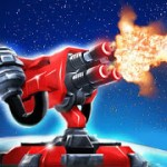 Planet Modular Tower Defense Sci Fi TD Strategy 114 МOD APK (Unlimited Gold + Crystals) 1